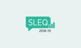 2018-19 STUDENT LEARNING EXPERIENCE QUESTIONNAIRE (SLEQ) IS CLOSED NOW!