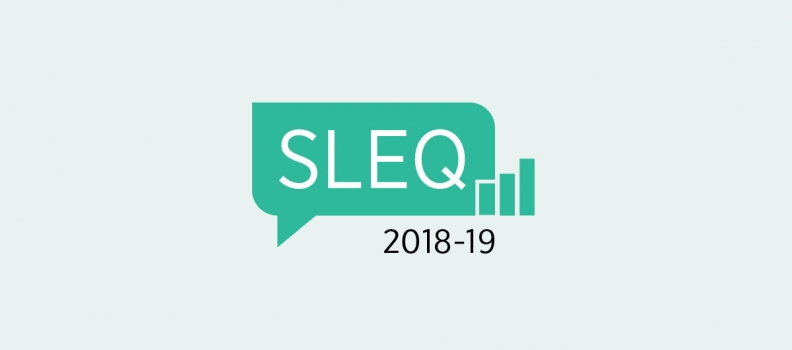 2018-19 SLEQ Results Now Available