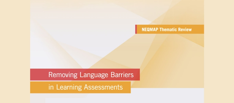 Thematic Review on Removing Language Barriers in Learning Assessments